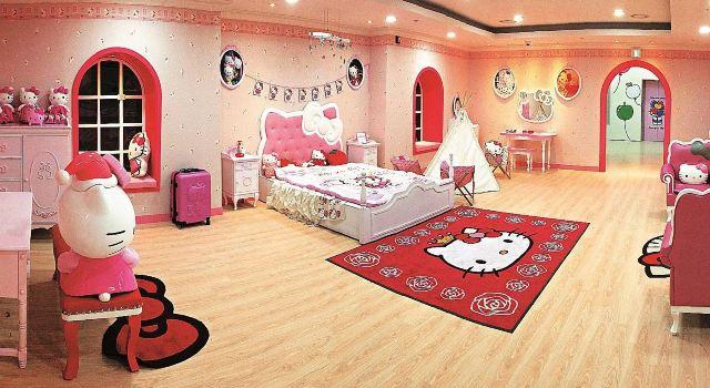 落地床房间设计图卧室图片韩国