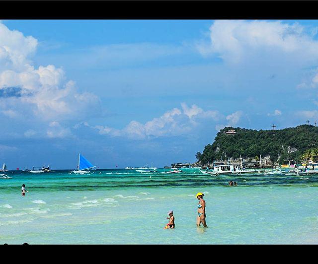布拉玻海滩         布拉玻海滩,隐秘在长滩岛背后,一座游人稀少的