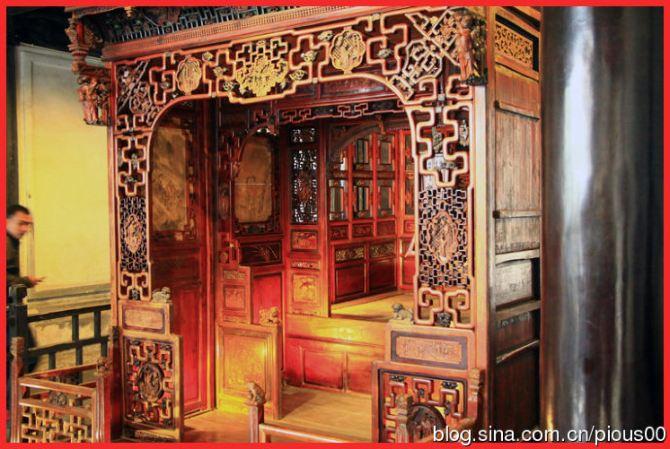 古风手绘卧室图片