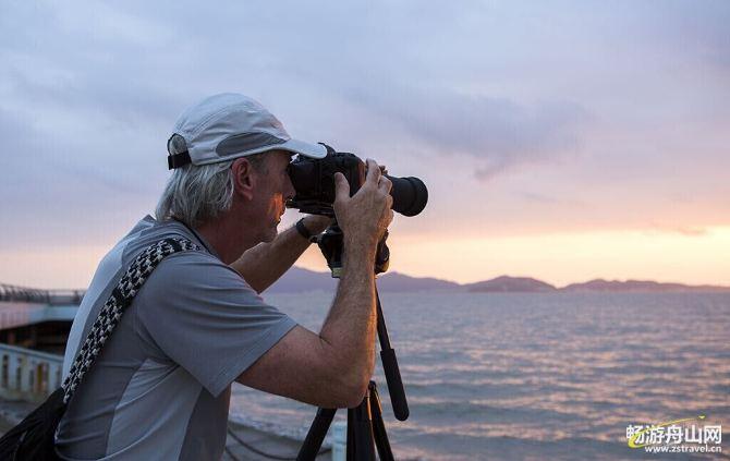 与老外摄影师相遇在图影洋边-舟山游记攻略火莲花攻略守图片