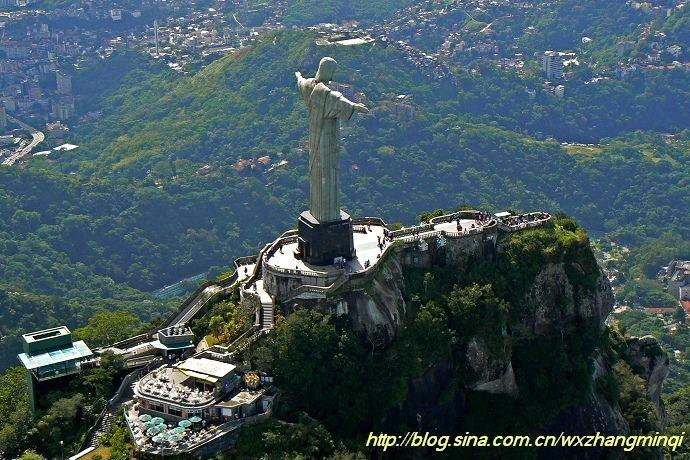 巴西基督像自拍 巴西基督神像图片