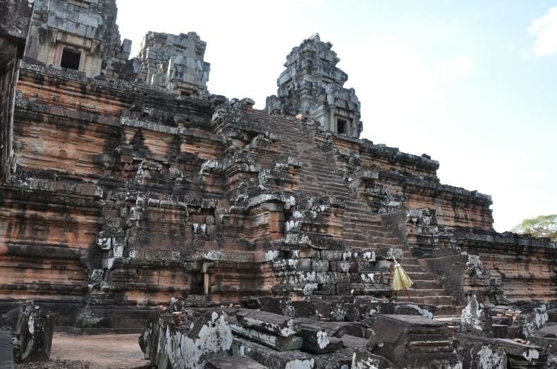 柬埔寨的吴哥古迹群