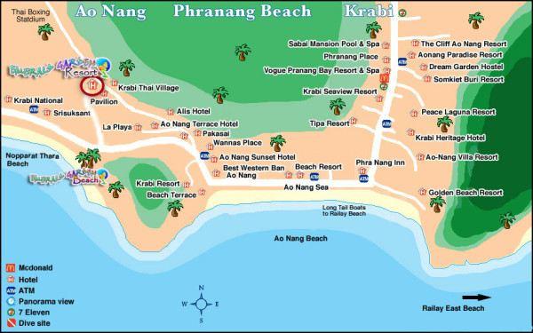 兰塔岛地图