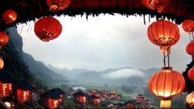 红灯笼乡村家园