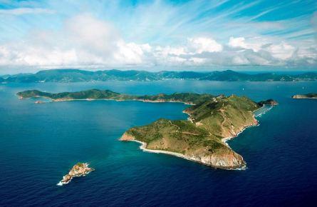 佛得角共和国岛屿.位于圣文森特岛与圣尼古拉岛之间.