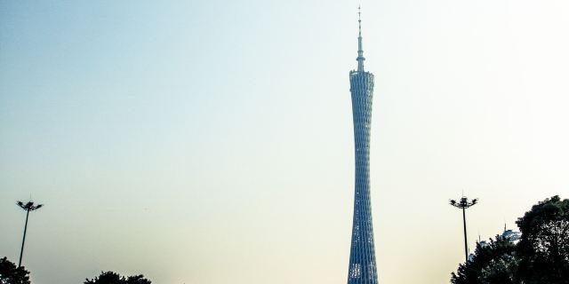 610米的广州新电视塔的整体高度仍将成为亚洲最高