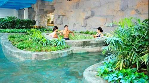 別墅地下溫泉池平面圖