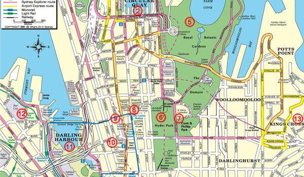 手绘北京旅行地图