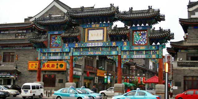 古文化街,估衣街等老天津景观串成全新的旅游观光图片