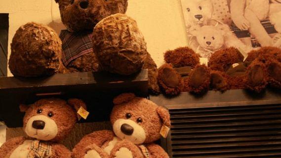 可爱泰迪带字图片