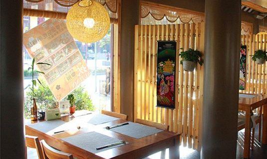 中小型餐馆包间装修图