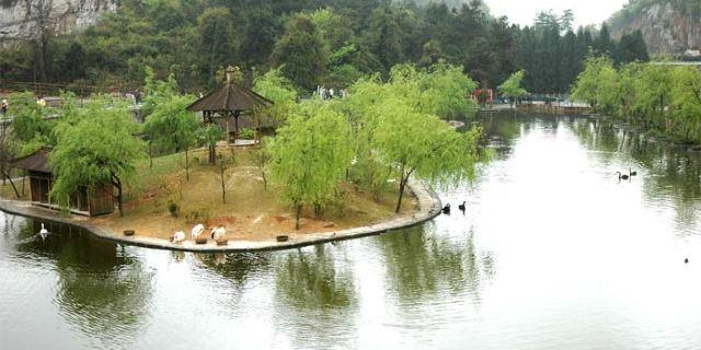 贵阳森林野生动物园是国家aaaa景区,园内饲养200多种5000多头(只)