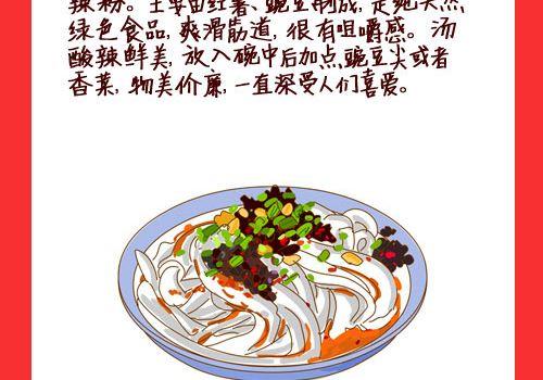 吃遍重庆——手绘重庆美食
