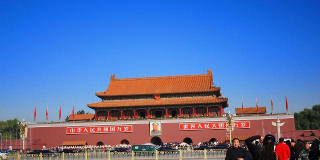 天安门广场_北京_百度地图