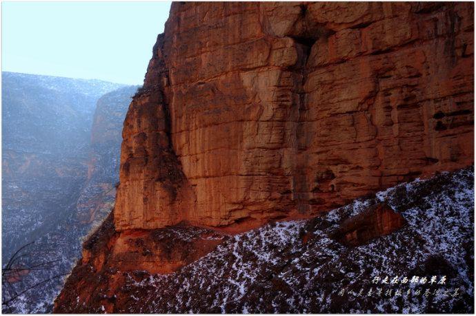 【加游站】冬天的徒步.冶力关.穿越赤壁幽谷-梦幻手游攻略转金夫妻图片