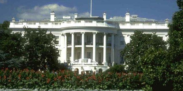 白宫正面手绘图