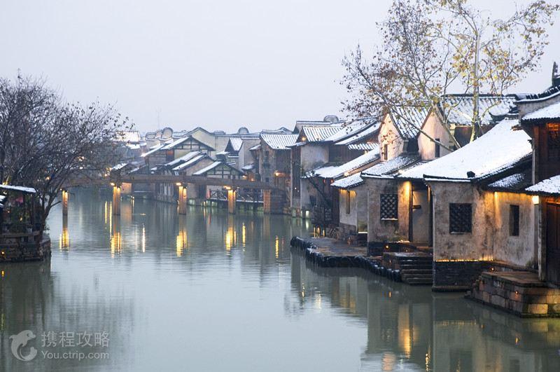 杭州乌镇矢量图