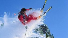 七台河市万宝山滑雪场