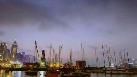 铜锣湾避风塘