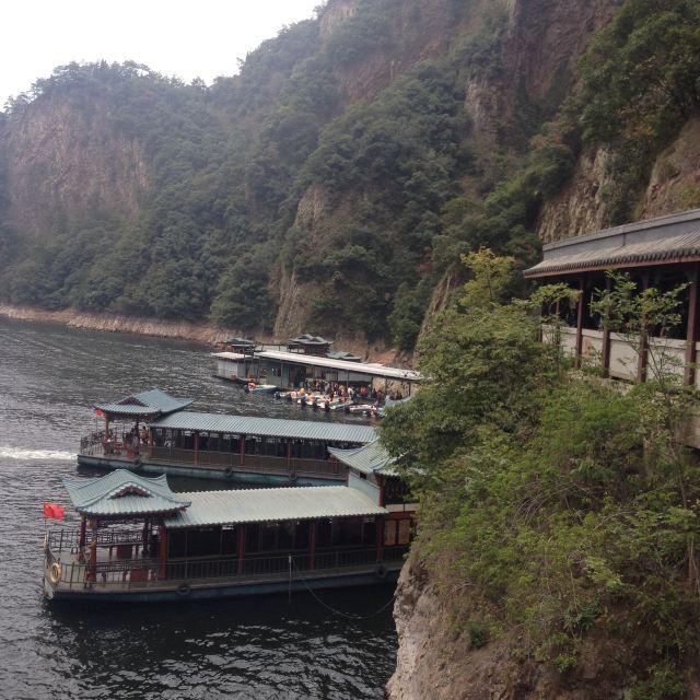 五泄景区内游船码头 五泄国家森林公园入口