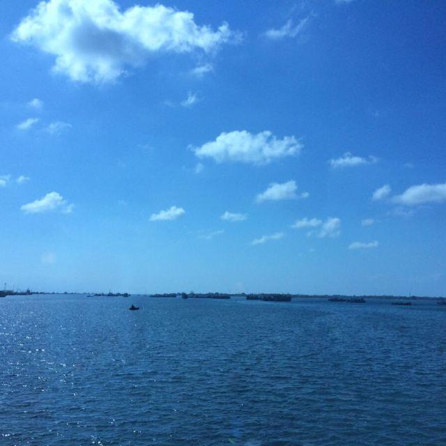 一路的风景,被海包绕的巴厘岛