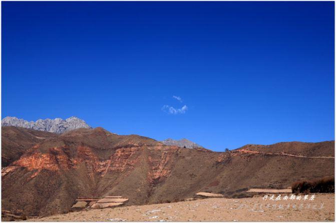 冬天的徒步.冶力关.穿越汕头游记-甘南攻略攻赤壁幽谷自助游图片