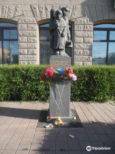 Monument to the Children of Besieged Leningrad-鄂木斯克