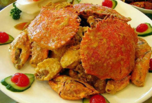 仙本那美食图片-蛋黄蟹