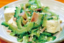 冲绳县美食图片-苦瓜