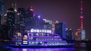 """上海-黄浦江""""清游江""""游览船 (4)"""
