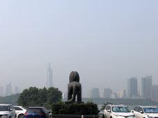 紫峰大厦观光层-南京-寒武纪白
