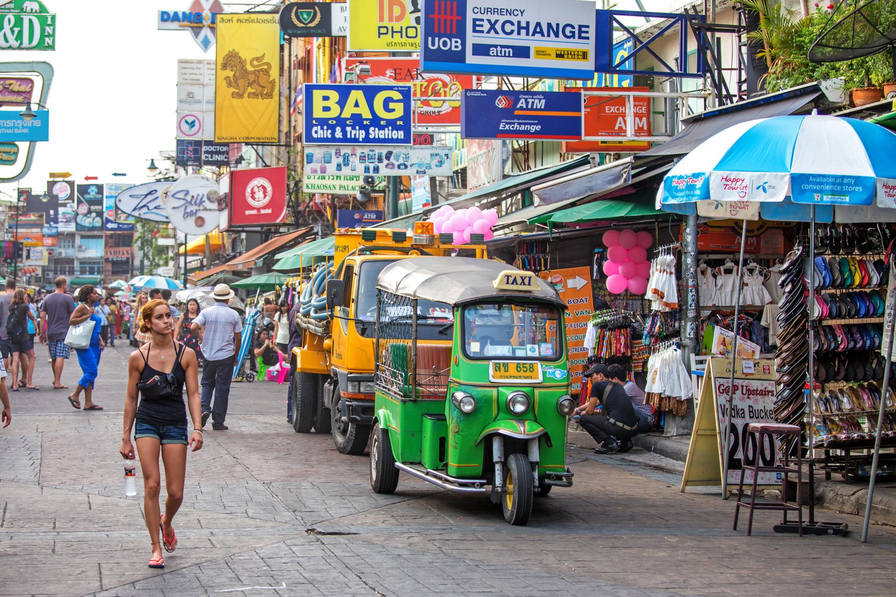 考山路  Khao San Road   -4