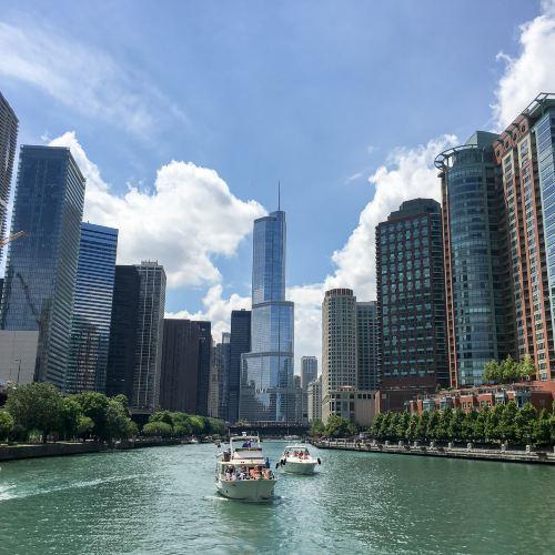 シカゴ建築リバークルーズチケット
