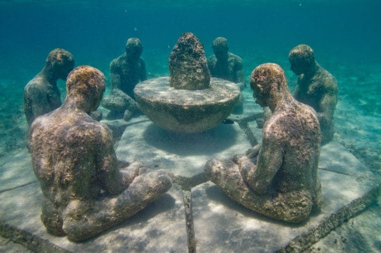 5 Things to Know About Cancun Underwater Museum Mexico travel notes and  guides – Trip.com travel guides