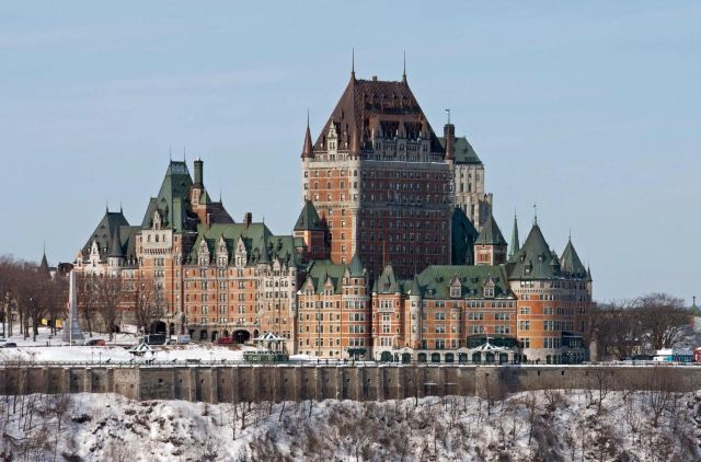 Most Iconic Historic Hotels in Old Quebec: Chateau Frontenac