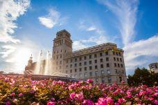 加泰罗尼亚广场-巴塞罗那-是条胳膊