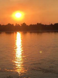 湄公河边公园-万象-秋水无澜