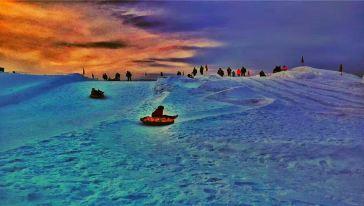 橡胶坝冰雪乐园