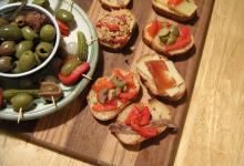 巴塞罗那美食图片-西班牙小菜