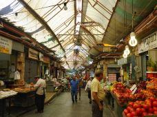耶路撒冷马哈尼耶胡达市场图片