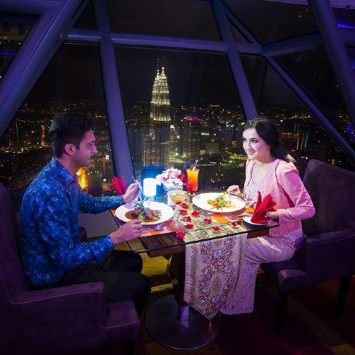 Kuala Lumpur Tower Atmosphere 360 Buffet Lunch/Afternoon Tea/Dinner