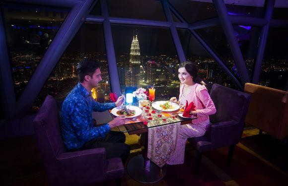 吉隆坡塔 Atmosphere360旋轉餐廳自助午餐/下午茶/晚餐