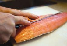 奥克兰美食图片-三文鱼