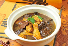 唐山美食图片-芦花鸡
