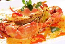 芭堤雅美食图片-咖喱螃蟹
