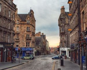 The Heart Edinburgh's Old Town: The Royal Mile
