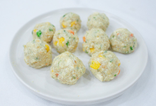 五台山美食图片-豆腐丸子