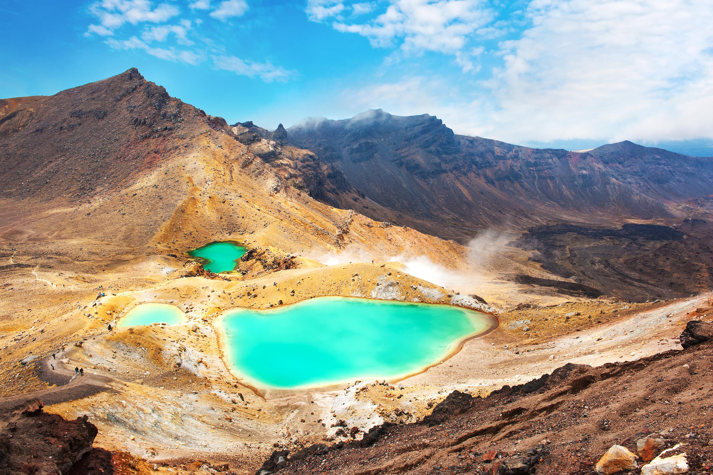 汤加里罗国家公园旅游景点图片