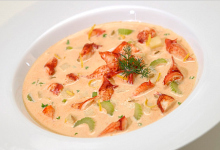 雷克雅未克美食图片-龙虾浓汤