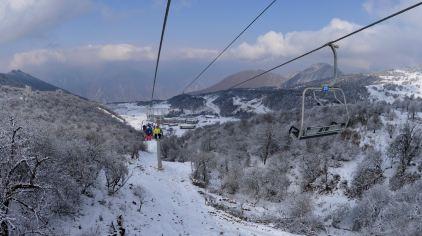 九鼎山太子岭滑雪场9